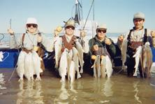 Larry Gonzales and Crew February 14th Valentine Day Massacre - Limits of Redfish