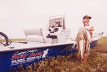 Capt. Gary with limits of large Trout and Redfish - Wading - Artificials - September