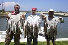 Howerton Crew - Limits of Trout, 1 Redfish - June